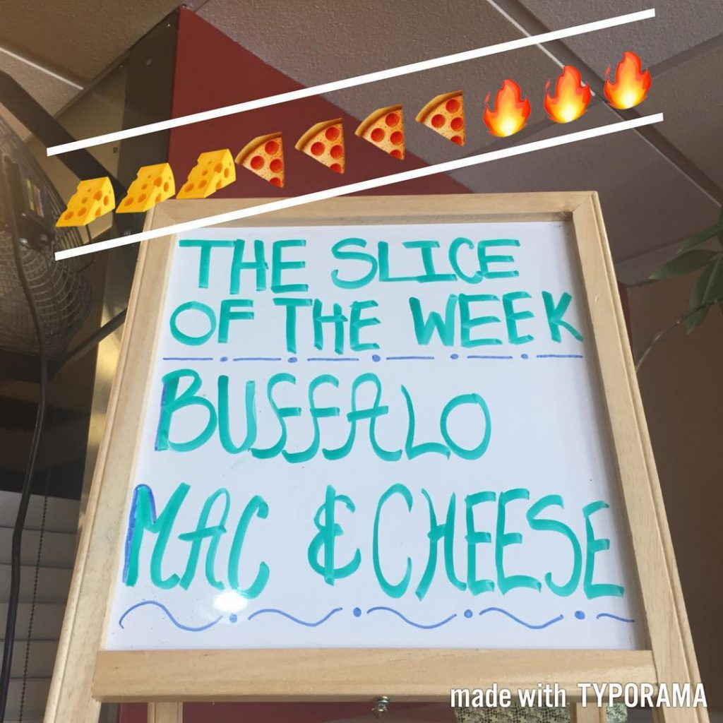 Buffalo Mac is here til Thursday!! sliceoftheweek villameci glencove glenheadhellip