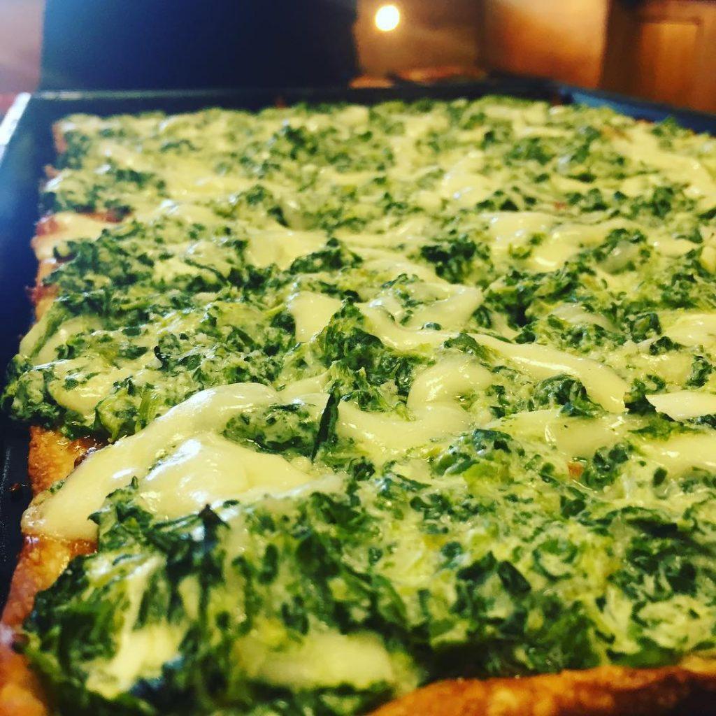 Slice of the week!!!!! The Spinach Dip! villameci seacliff glenheadhellip