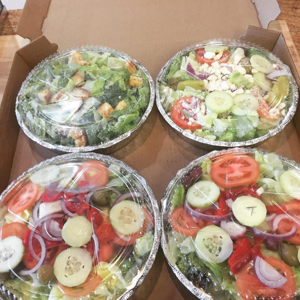 Villa Meci salads are perfect for a hot day! villamecihellip