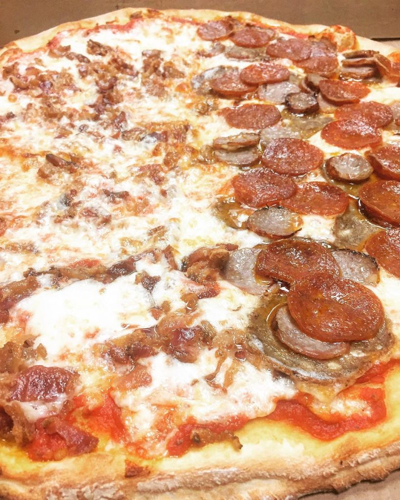 We have the meats 12 pepperoni sausage and meatball 12hellip
