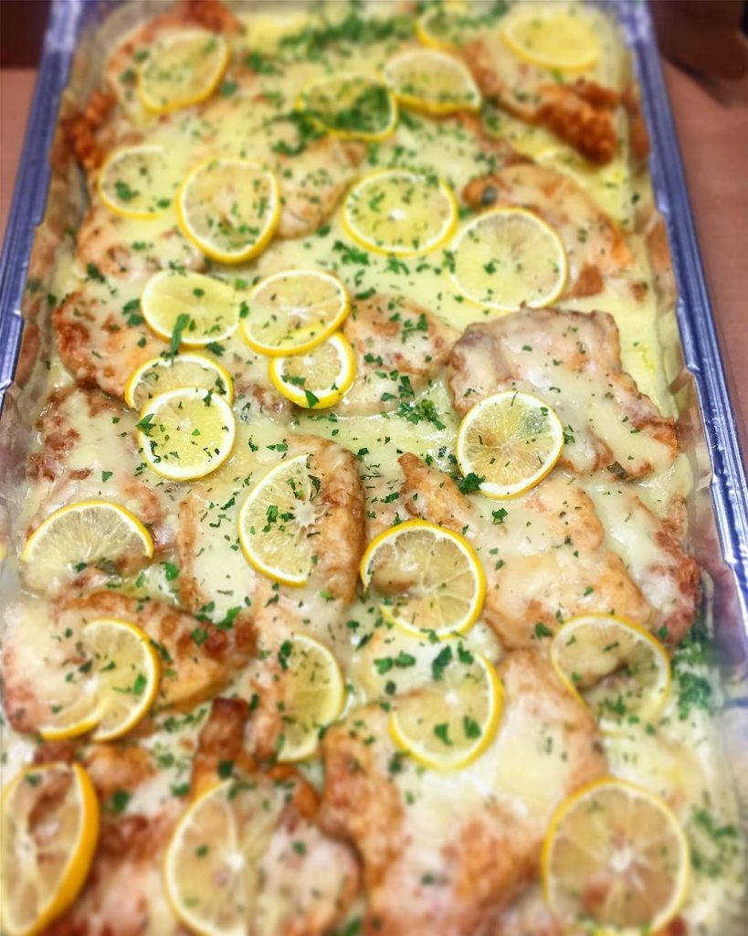 A full tray of our delicious Chicken Francaise is perfecthellip